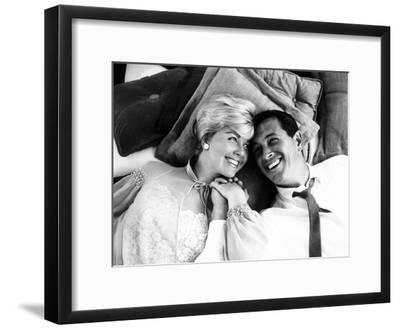Pillow Talk, Doris Day, Rock Hudson, 1959--Framed Photo