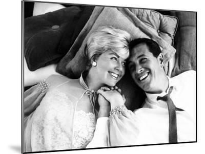 Pillow Talk, Doris Day, Rock Hudson, 1959--Mounted Photo