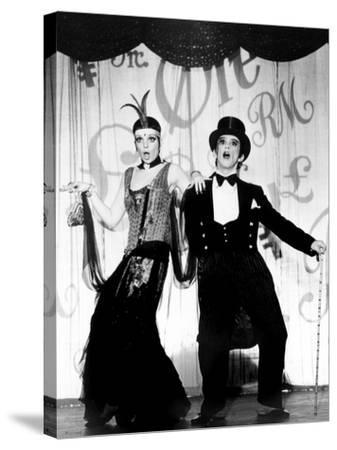 Cabaret, Liza Minnelli, Joel Grey, 1972--Stretched Canvas Print