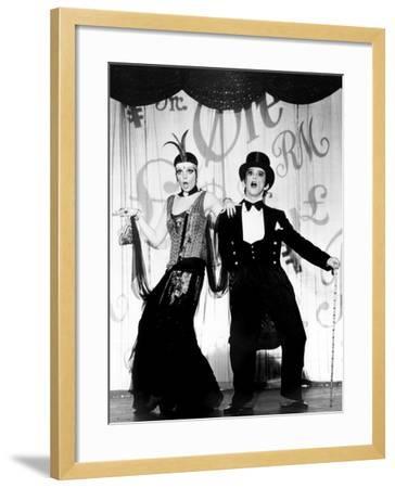 Cabaret, Liza Minnelli, Joel Grey, 1972--Framed Photo