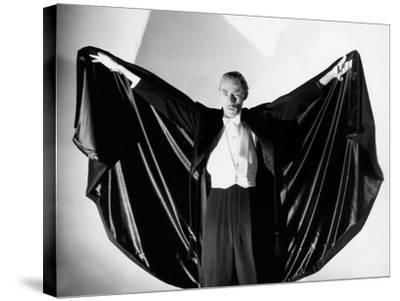 House of Dracula, John Carradine, 1945--Stretched Canvas Print