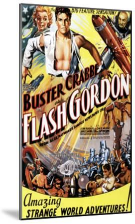 Flash Gordon, Jean Rogers, Larry 'Buster' Crabbe, Charles Middleton, 1936--Mounted Photo