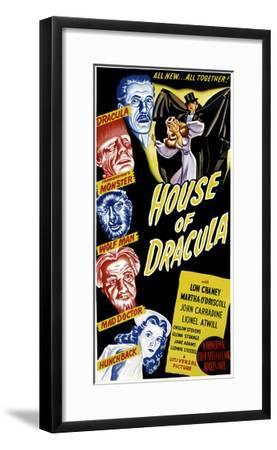 House of Dracula, 1945--Framed Photo