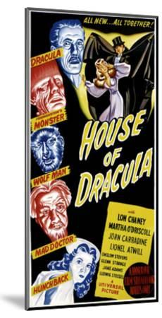 House of Dracula, 1945--Mounted Photo