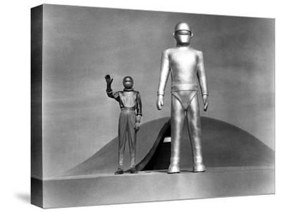 The Day The Earth Stood Still, Michael Rennie, 1951--Stretched Canvas Print