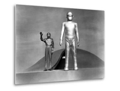 The Day The Earth Stood Still, Michael Rennie, 1951--Metal Print