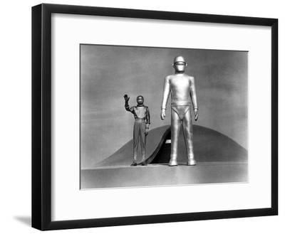The Day The Earth Stood Still, Michael Rennie, 1951--Framed Photo