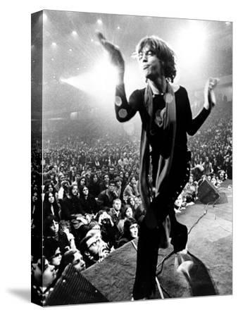 Gimme Shelter, Mick Jagger, 1970--Stretched Canvas Print