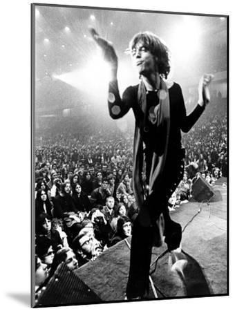 Gimme Shelter, Mick Jagger, 1970--Mounted Photo