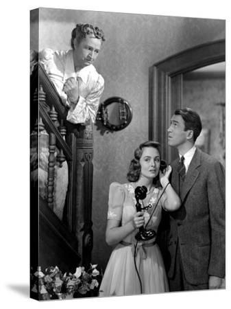 It's A Wonderful Life, Sarah Edwards, Donna Reed, James Stewart, 1946--Stretched Canvas Print