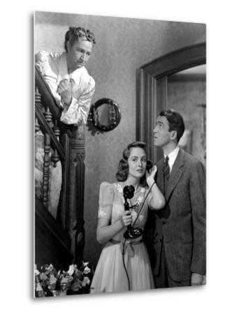 It's A Wonderful Life, Sarah Edwards, Donna Reed, James Stewart, 1946--Metal Print