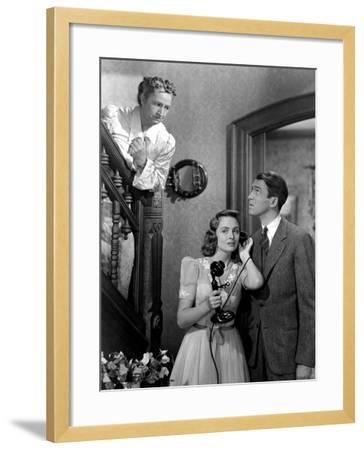 It's A Wonderful Life, Sarah Edwards, Donna Reed, James Stewart, 1946--Framed Photo