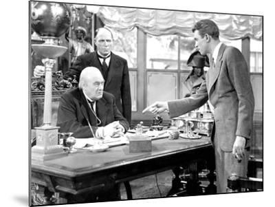 It's A Wonderful Life, Lionel Barrymore, Frank Hagney, James Stewart, 1946--Mounted Photo