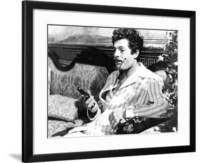 Divorce - Italian Style, Marcello Mastroianni, 1961--Framed Photo