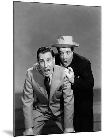 Hold That Ghost, Bud Abbott, Lou Costello, 1941--Mounted Photo