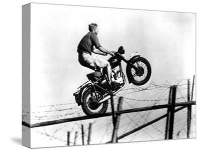 The Great Escape, Steve McQueen, 1963--Stretched Canvas Print