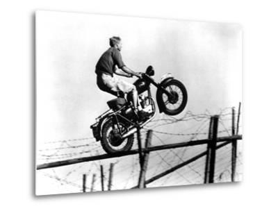 The Great Escape, Steve McQueen, 1963--Metal Print