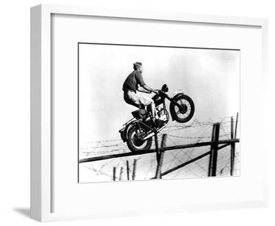 The Great Escape, Steve McQueen, 1963--Framed Photo