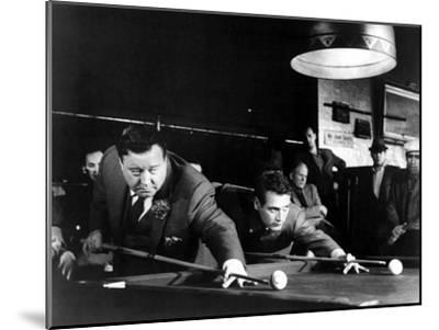 The Hustler, Jackie Gleason, Paul Newman, 1961--Mounted Photo