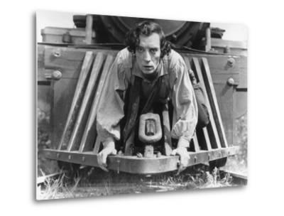The General, Buster Keaton, 1927, Train--Metal Print