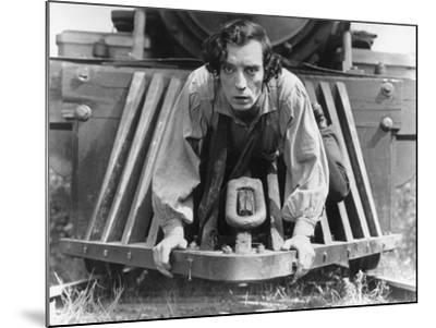 The General, Buster Keaton, 1927, Train--Mounted Photo