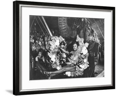 The Greatest Show On Earth, Gloria Grahame, Lyle Bettger, 1952--Framed Photo