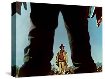 Once Upon A Time In The West, Charles Bronson, Henry Fonda, 1968--Stretched Canvas Print