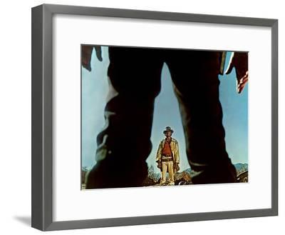 Once Upon A Time In The West, Charles Bronson, Henry Fonda, 1968--Framed Photo
