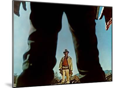 Once Upon A Time In The West, Charles Bronson, Henry Fonda, 1968--Mounted Photo