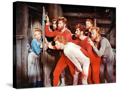 Seven Brides For Seven Brothers, 1954--Stretched Canvas Print