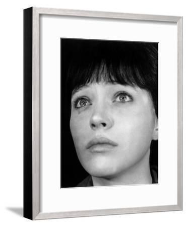 My Life To Live, (aka Vivre Sa Vie), Anna Karina, 1962--Framed Photo