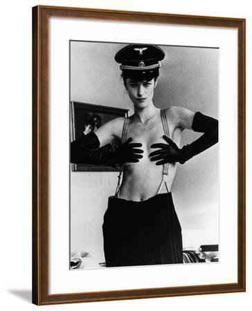 The Night Porter, (aka Il Portiere Di Notte), Charlotte Rampling, 1974--Framed Photo