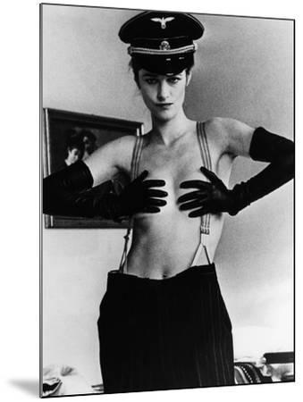 The Night Porter, (aka Il Portiere Di Notte), Charlotte Rampling, 1974--Mounted Photo