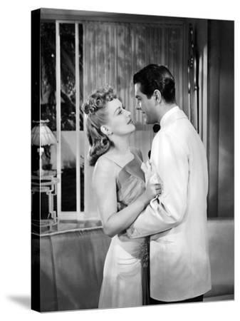 Moon Over Miami, Betty Grable, Robert Cummings, 1941--Stretched Canvas Print