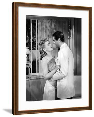 Moon Over Miami, Betty Grable, Robert Cummings, 1941--Framed Photo