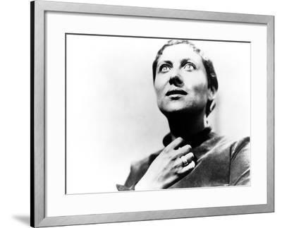 The Passion Of Joan Of Arc, (aka La Passion De Jeanne D'Arc), Maria Falconetti, 1928--Framed Photo