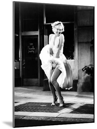 The Seven Year Itch, Marilyn Monroe, 1955--Mounted Photo