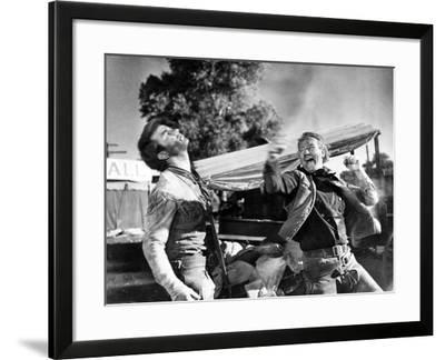 Red River, Montgomery Clift, John Wayne, 1948--Framed Photo
