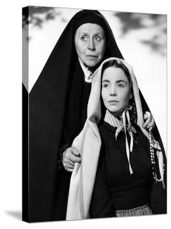 The Song Of Bernadette, Blanche Yurka, Jennifer Jones, 1943--Stretched Canvas Print