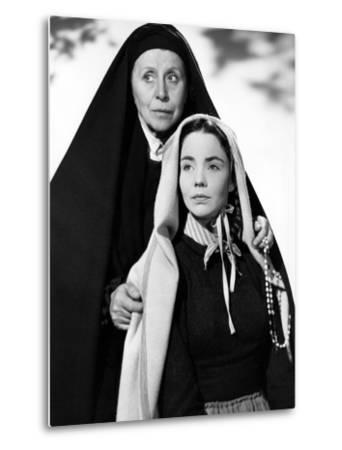The Song Of Bernadette, Blanche Yurka, Jennifer Jones, 1943--Metal Print