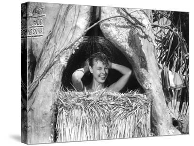 South Pacific, Mitzi Gaynor, 1958--Stretched Canvas Print