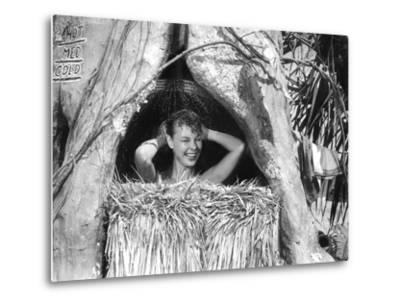 South Pacific, Mitzi Gaynor, 1958--Metal Print