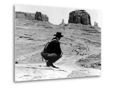 The Searchers, John Wayne, 1956--Metal Print