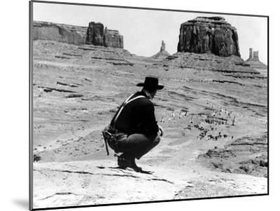 The Searchers, John Wayne, 1956--Mounted Photo
