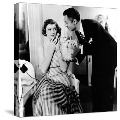 The Thin Man, Myrna Loy, William Powell, 1934--Stretched Canvas Print