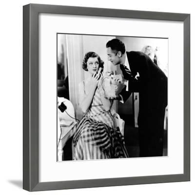 The Thin Man, Myrna Loy, William Powell, 1934--Framed Photo