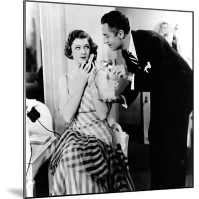 The Thin Man, Myrna Loy, William Powell, 1934--Mounted Photo