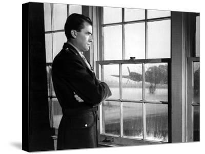 Twelve O'Clock High, Gregory Peck, 1949--Stretched Canvas Print