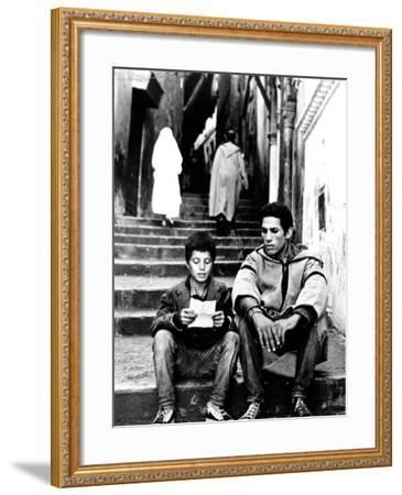 The Battle Of Algiers, Mohamed Ben Kassen, Brahim Haggiag, 1965--Framed Photo
