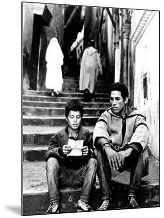 The Battle Of Algiers, Mohamed Ben Kassen, Brahim Haggiag, 1965--Mounted Photo